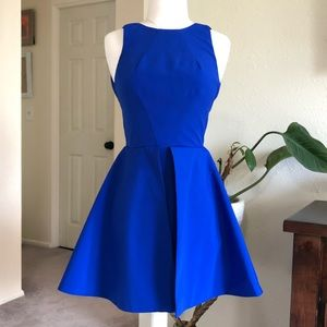 Keepsake the label Cobalt Blue party dress